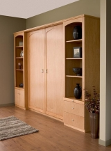 Double Maple Veener Murphy Bed