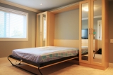 Murphy Bed with mirror doors