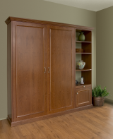 Deepcove Model, Cherry Veener Murphy Bed Unit