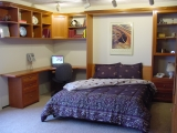 Queen Size Murphy Bed Office Unit